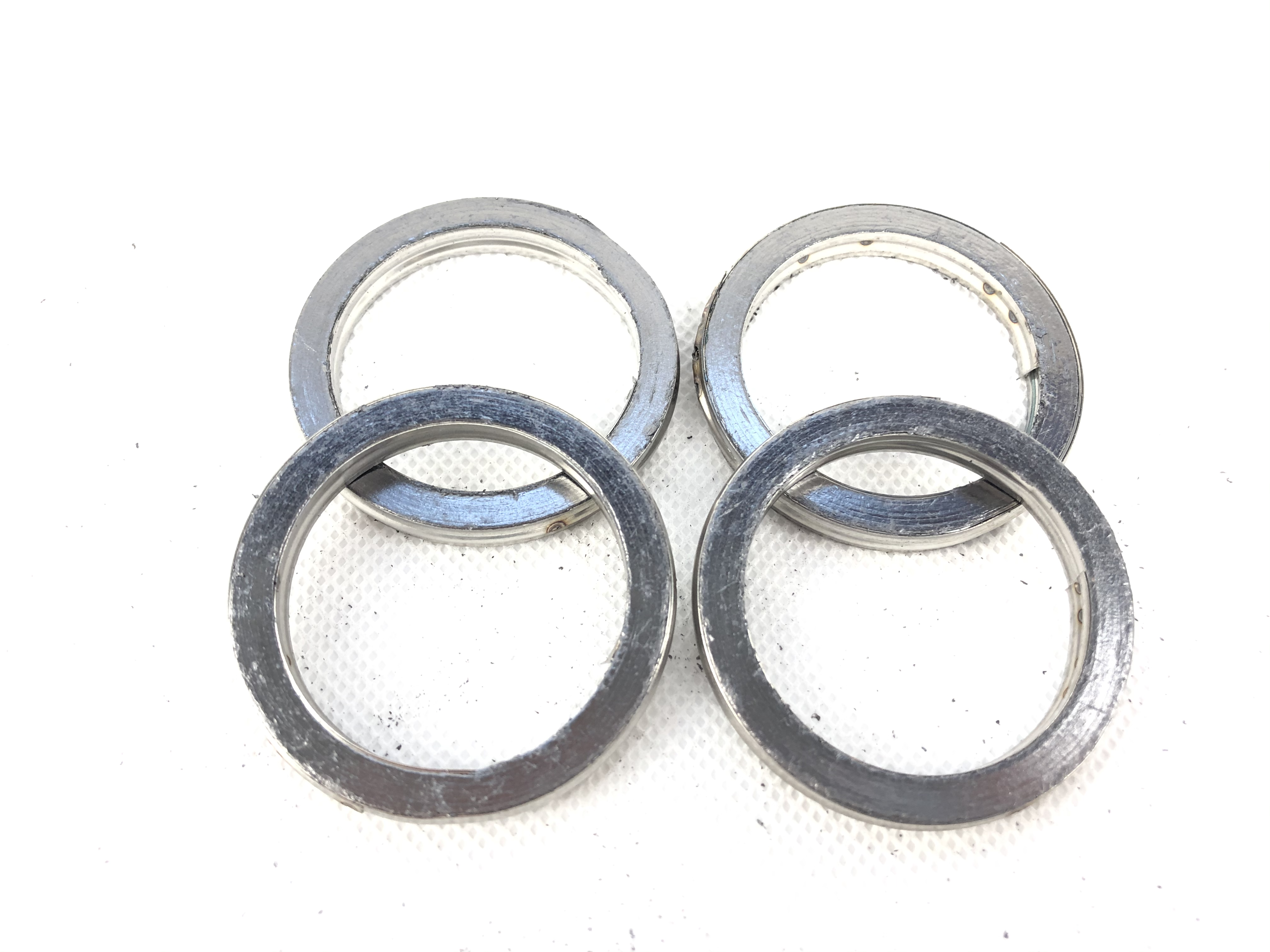 100/% COPPER EXHAUST GASKETS SEAL HEADER GASKET RING 45mm OD 35mm ID  F45